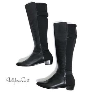 COLE HAAN Riding Knee Boots NIKE AIR Stretch 7.5